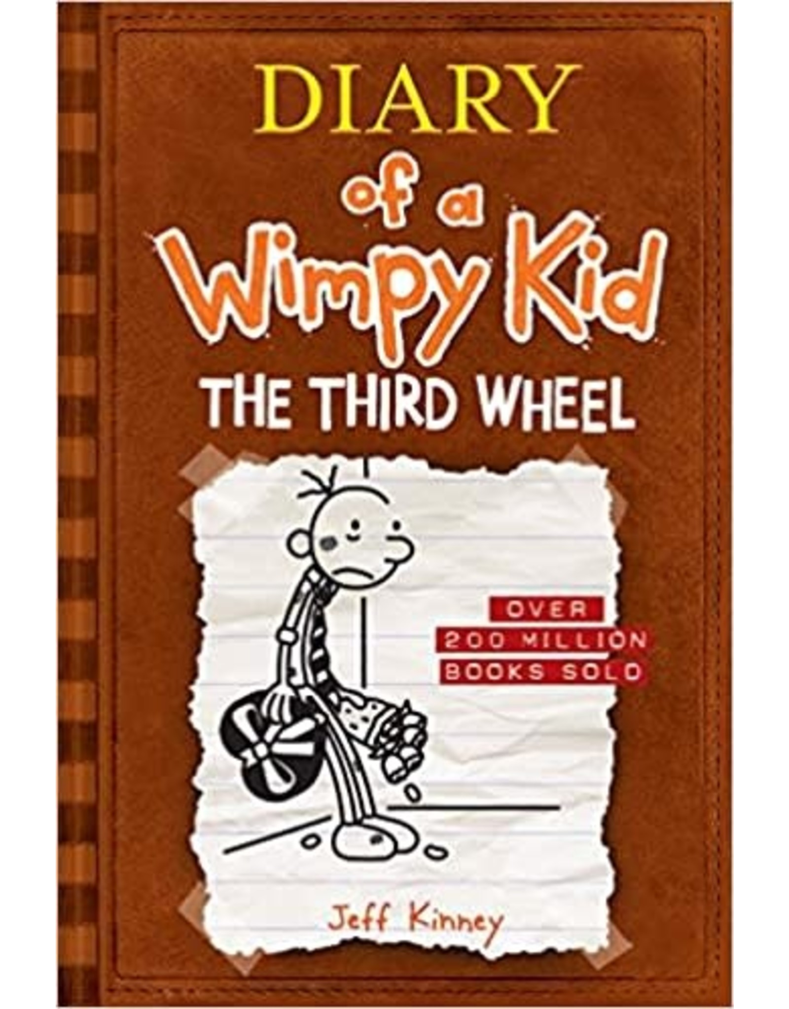 AMULET BOOKS DIARY OF A WIMPY KID HC VOL 07 THIRD WHEEL