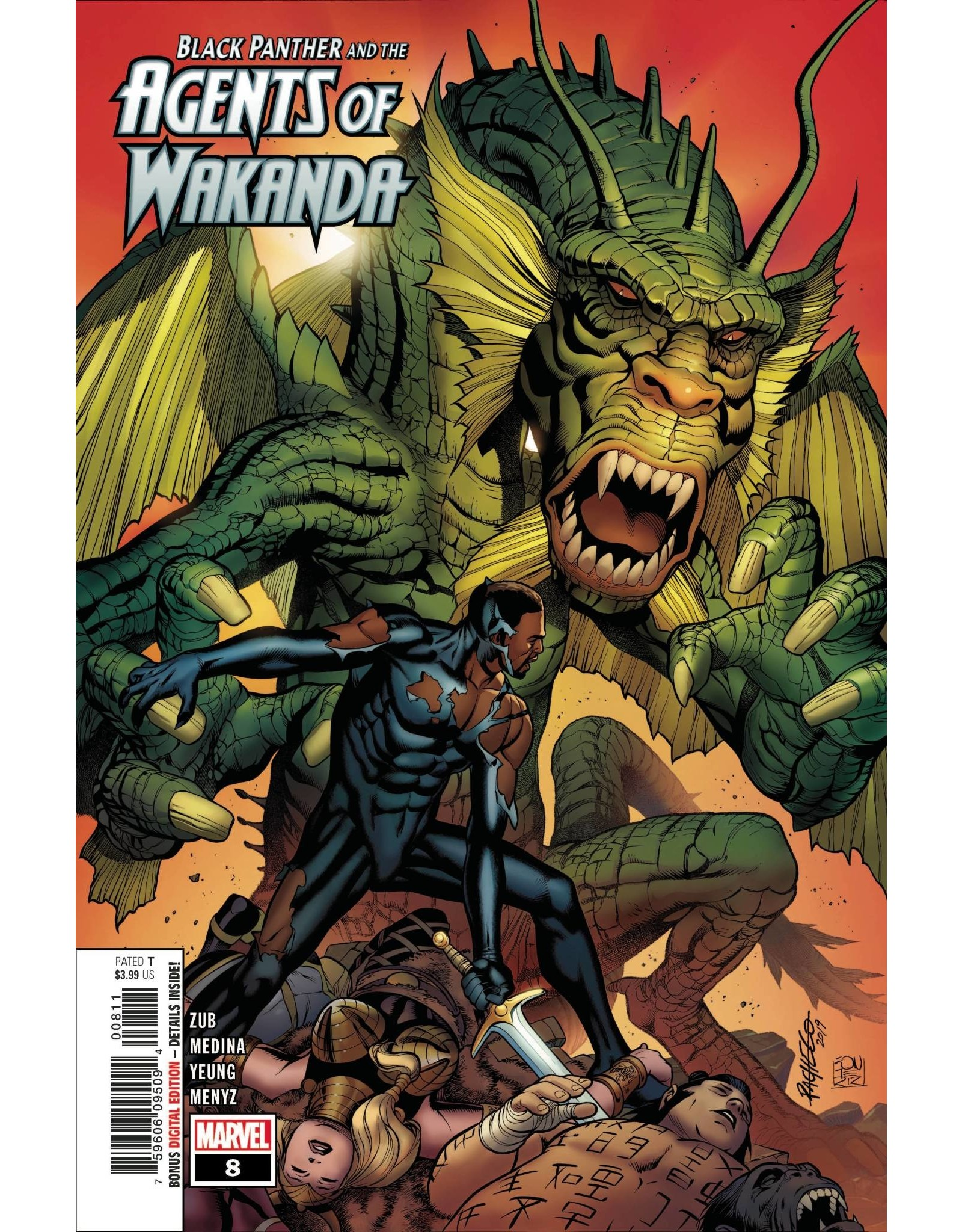MARVEL COMICS BLACK PANTHER AND AGENTS OF WAKANDA #8