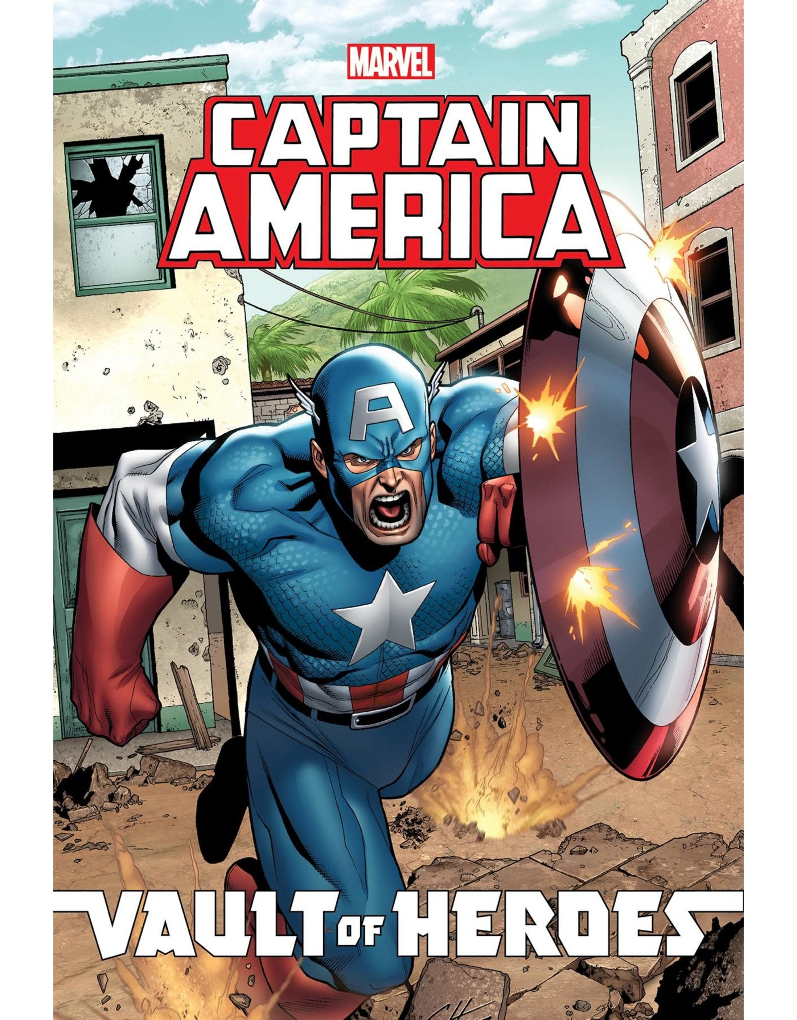 IDW PUBLISHING MARVEL VAULT OF HEROES CAPTAIN AMERICA TP