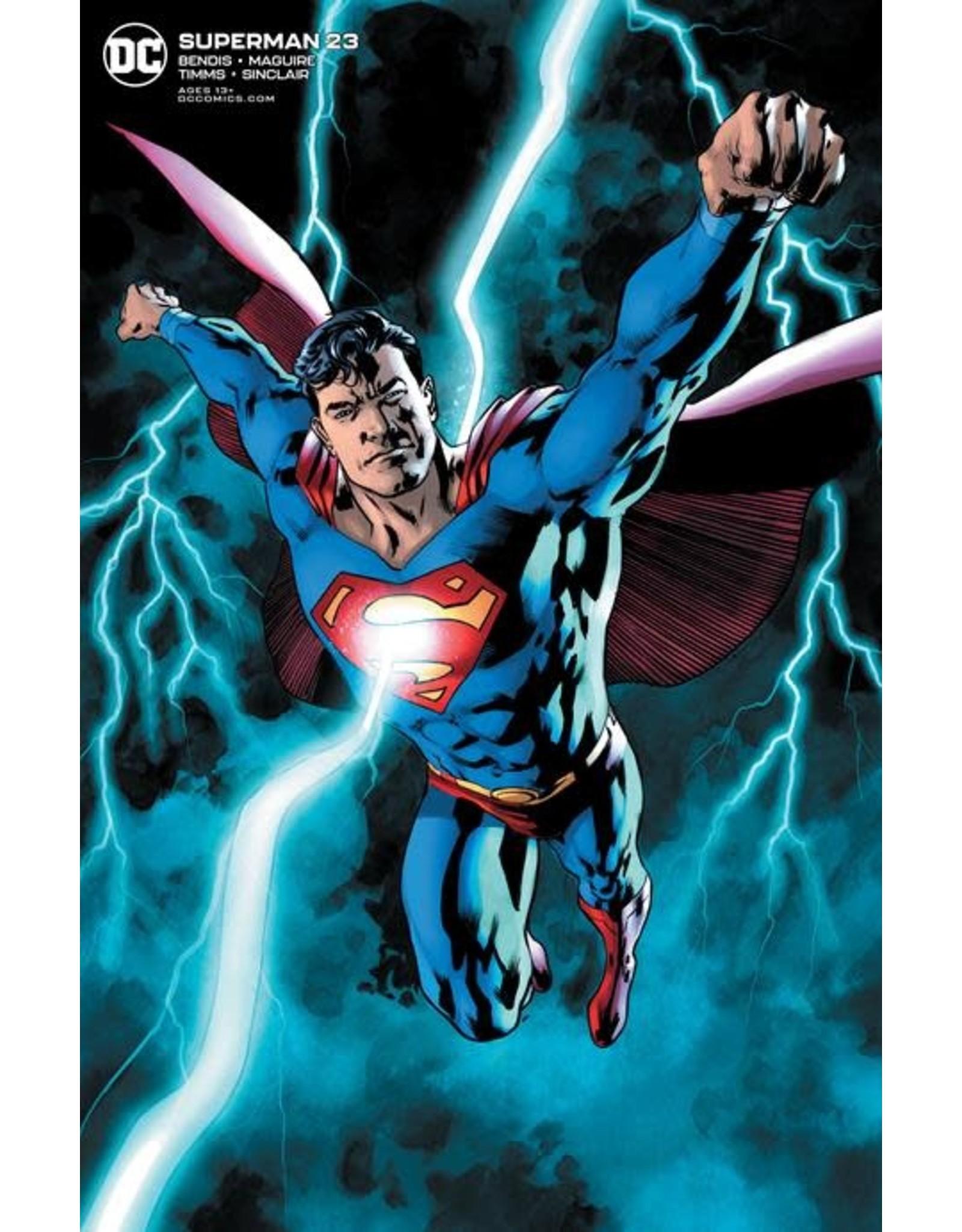 DC COMICS SUPERMAN #23 BRYAN HITCH VAR ED