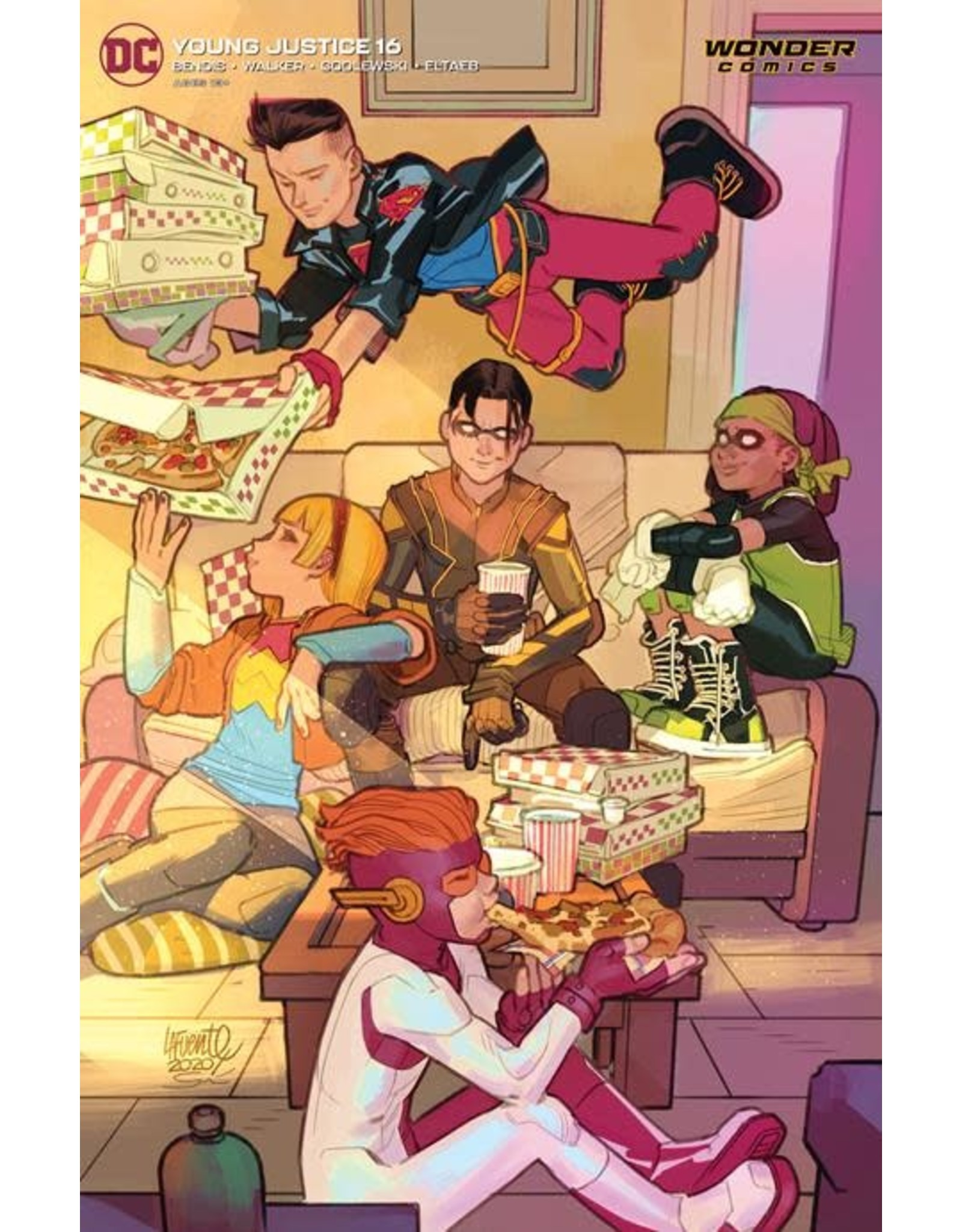 DC COMICS YOUNG JUSTICE #16 FRANCIS MANAPUL VAR ED