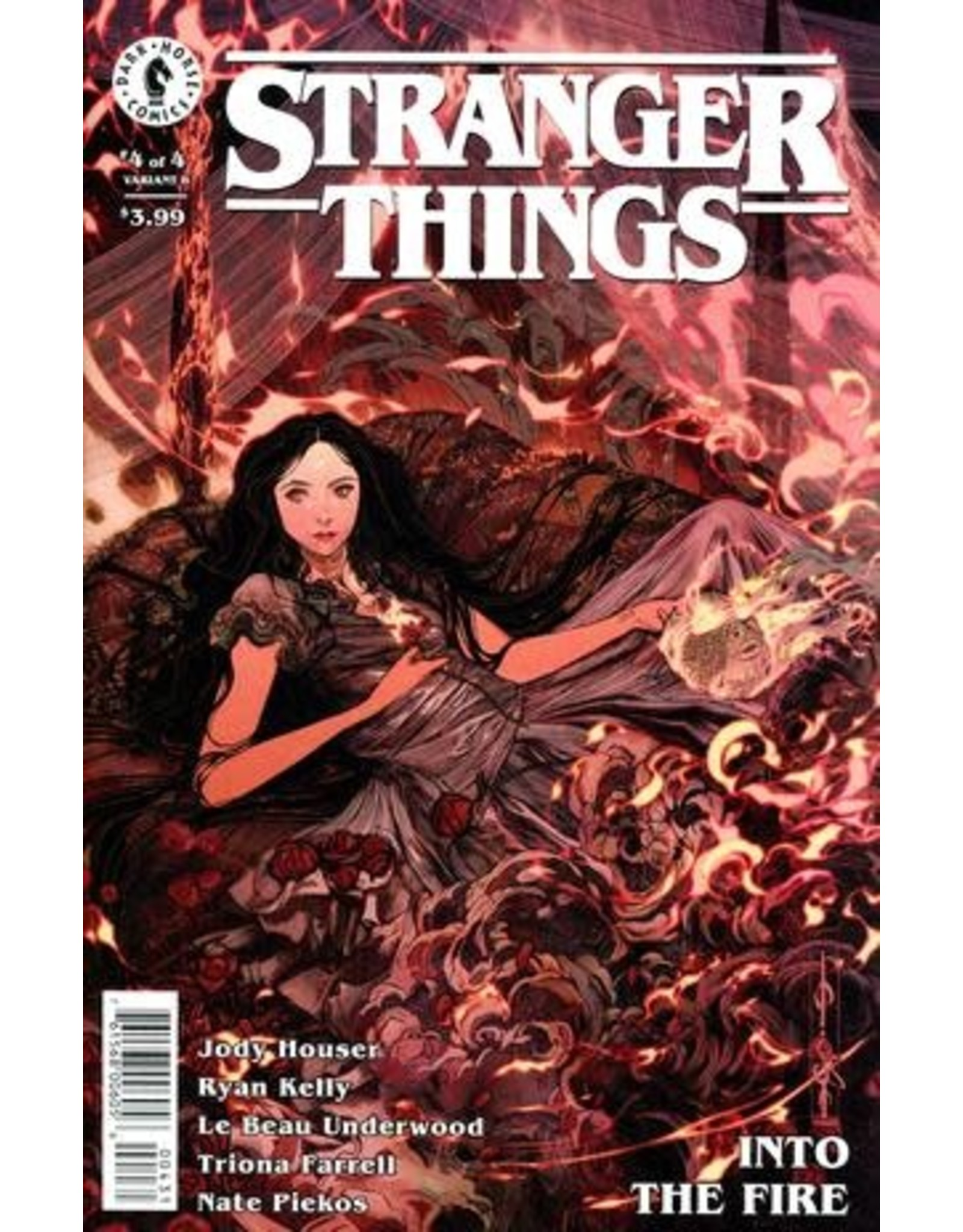 DARK HORSE COMICS STRANGER THINGS INTO THE FIRE #4 (OF 4) CVR C CAGLE