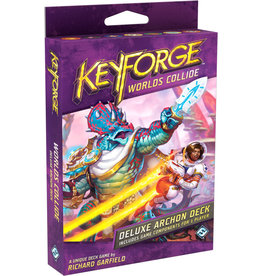 FANTASY FLIGHT GAMES KEYFORGE WORLDS COLLIDE DELUXE ARCHON DECK