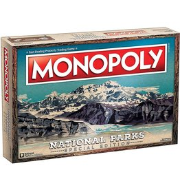 USAOPOLY MONOPOLY NATIONAL PARKS SPECIAL EDITION