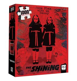 """USAOPOLY THE SHINING """"COME PLAY"""" 1000 PIECE PUZZLE"""