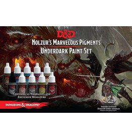 THE ARMY PAINTER D&D NOLZUR'S MARVELOUS PIGMENTS - UNDERDARK PAINT SET