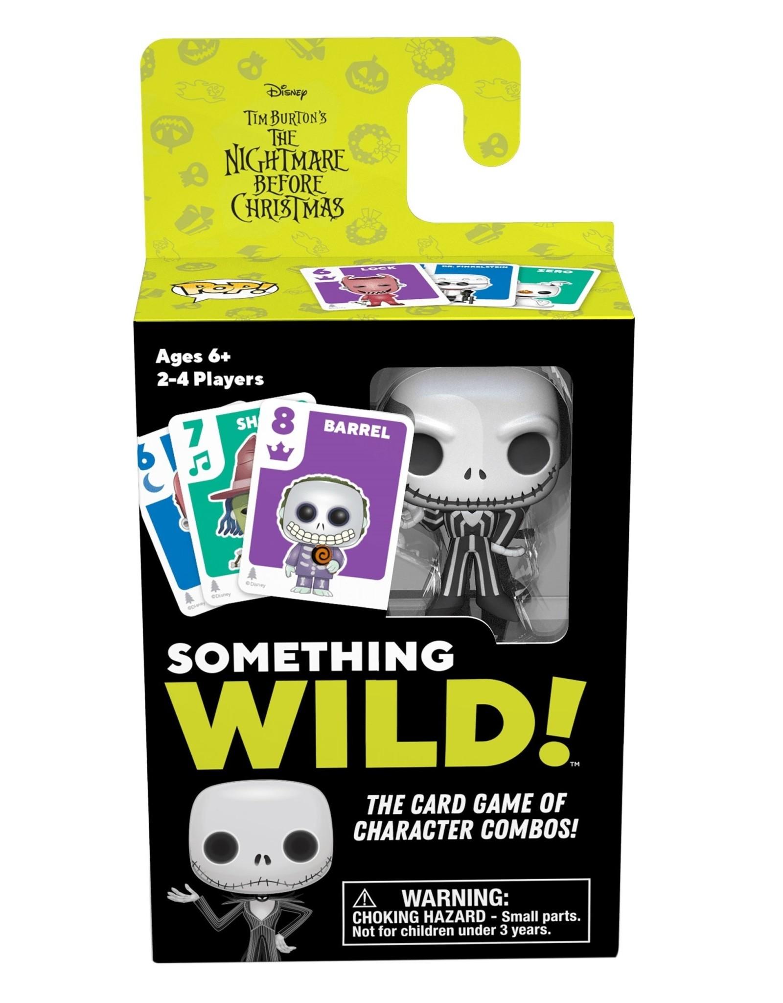 FUNKO SOMETHING WILD! CARD GAME NIGHTMARE BEFORE CHRISTMAS