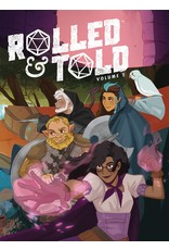 ONI PRESS INC. ROLLED AND TOLD HC VOL 02