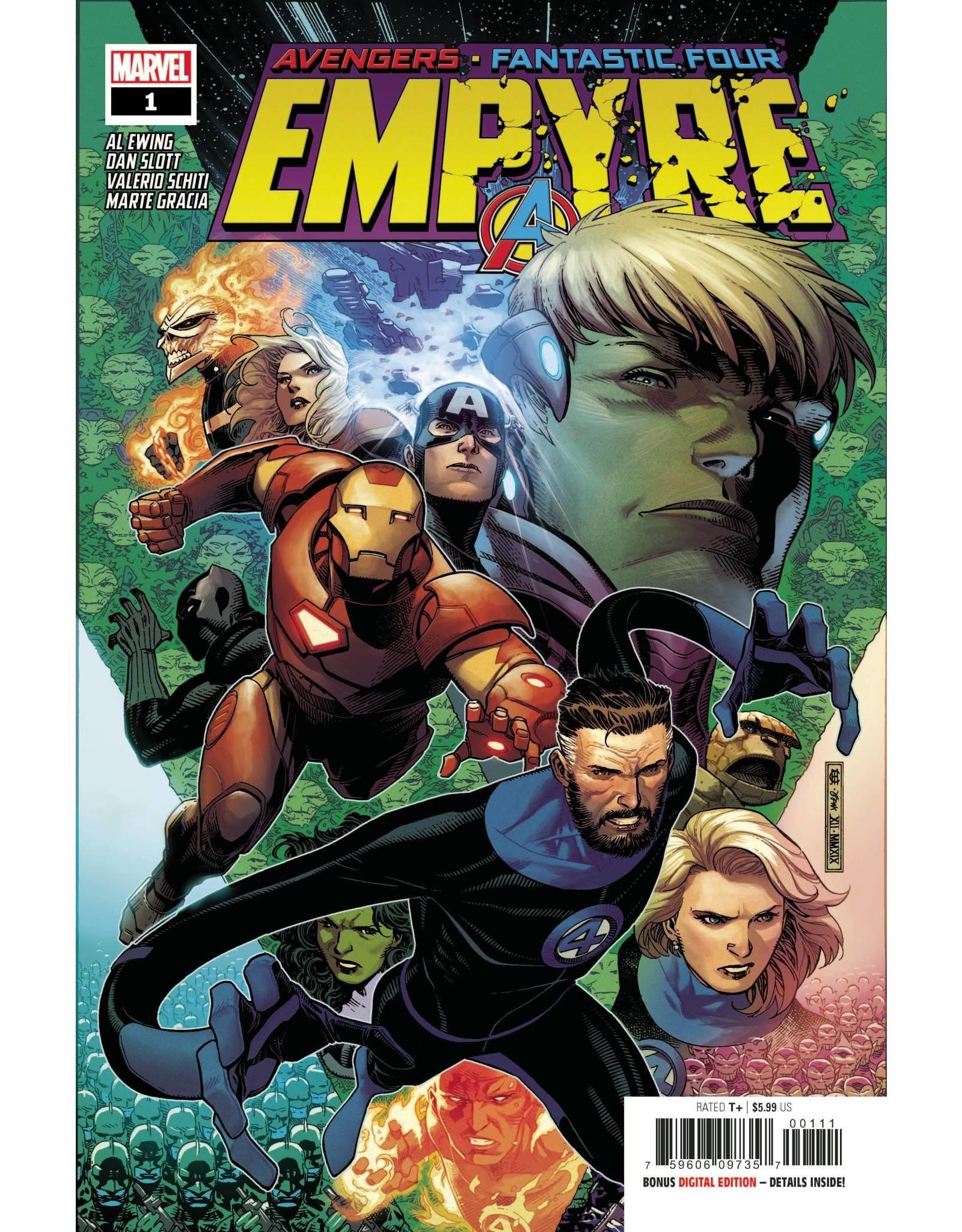 MARVEL COMICS EMPYRE #1 (OF 6)