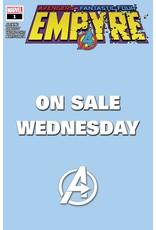 MARVEL COMICS EMPYRE #1 (OF 6) MARVEL WEDNESDAY VAR