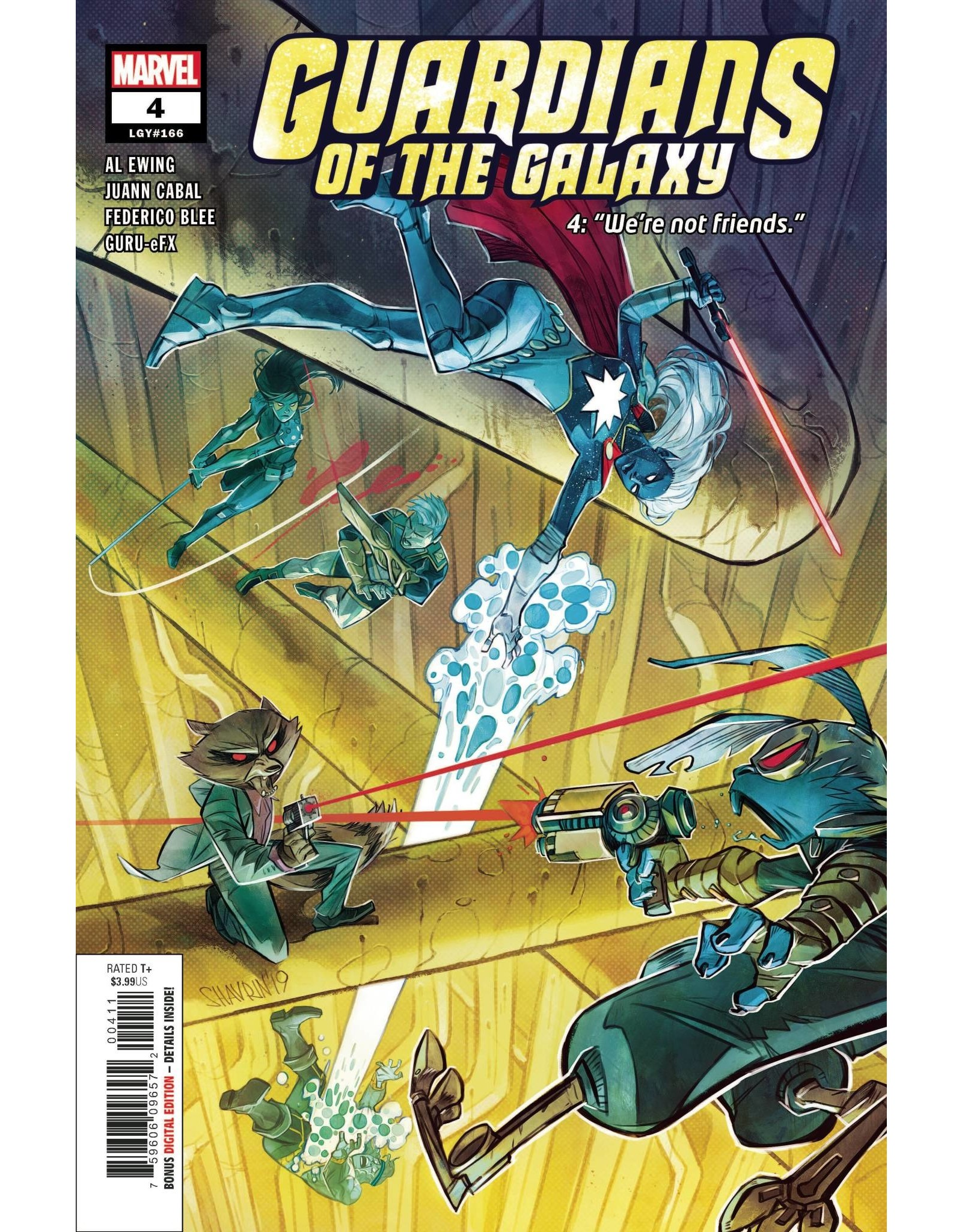 MARVEL COMICS GUARDIANS OF THE GALAXY #4