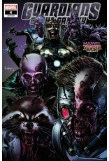 MARVEL COMICS GUARDIANS OF THE GALAXY #4 SUAYAN MARVEL ZOMBIES VAR