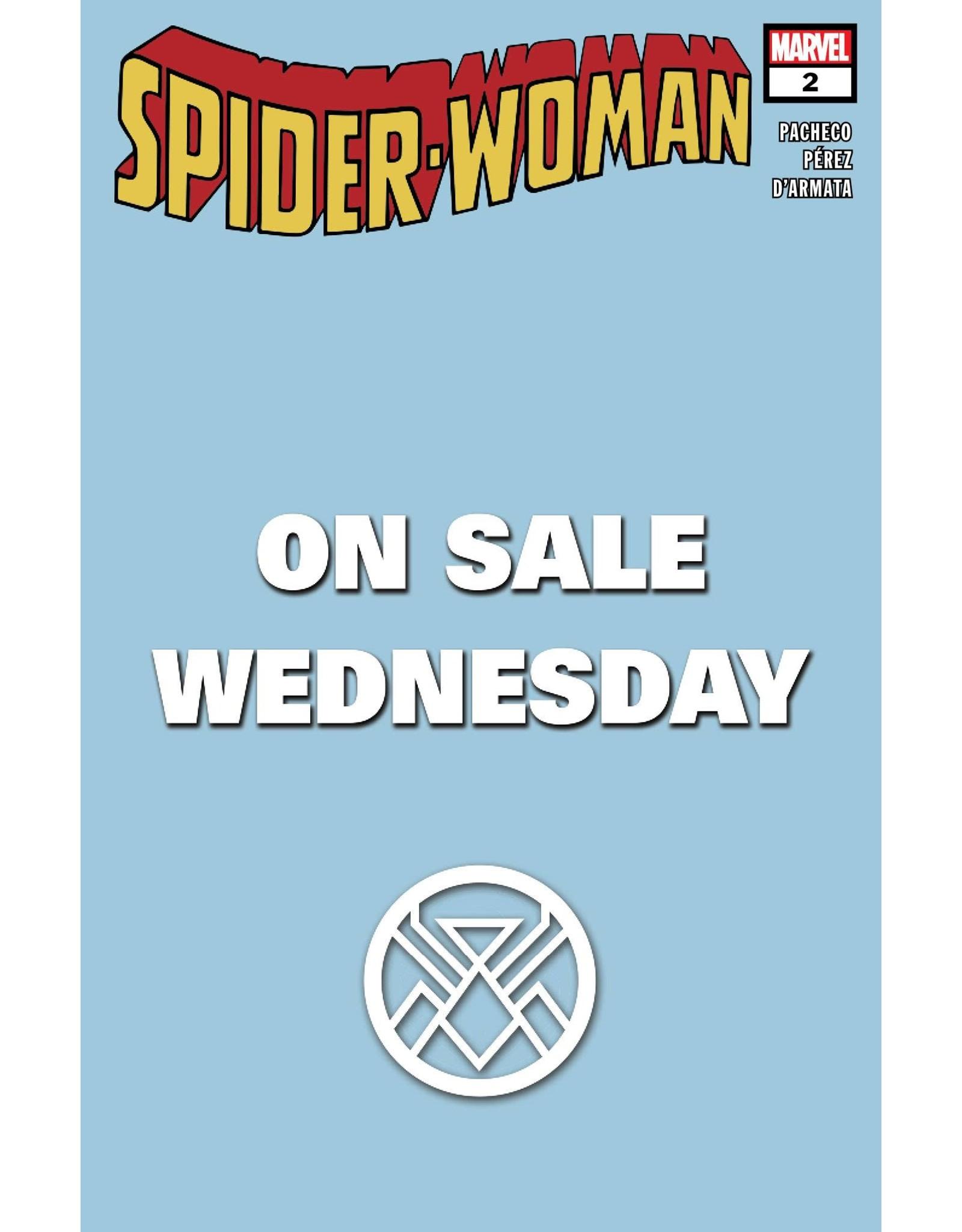 MARVEL COMICS SPIDER-WOMAN #2 MARVEL WEDNESDAY VAR