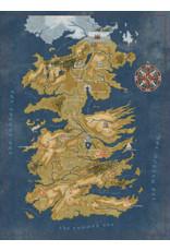 DARK HORSE COMICS GAME OF THRONES WESTEROS MAP 1000 PIECE PUZZLE