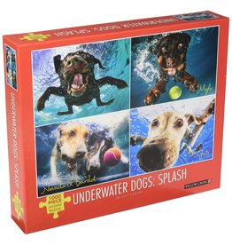 UNDERWATER DOGS: POOL PAWTY 1000 PIECE PUZZLE