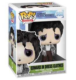 FUNKO POP EDWARD SCISSORHANDS EDWARD IN DRESS CLOTHES VINYL FIG