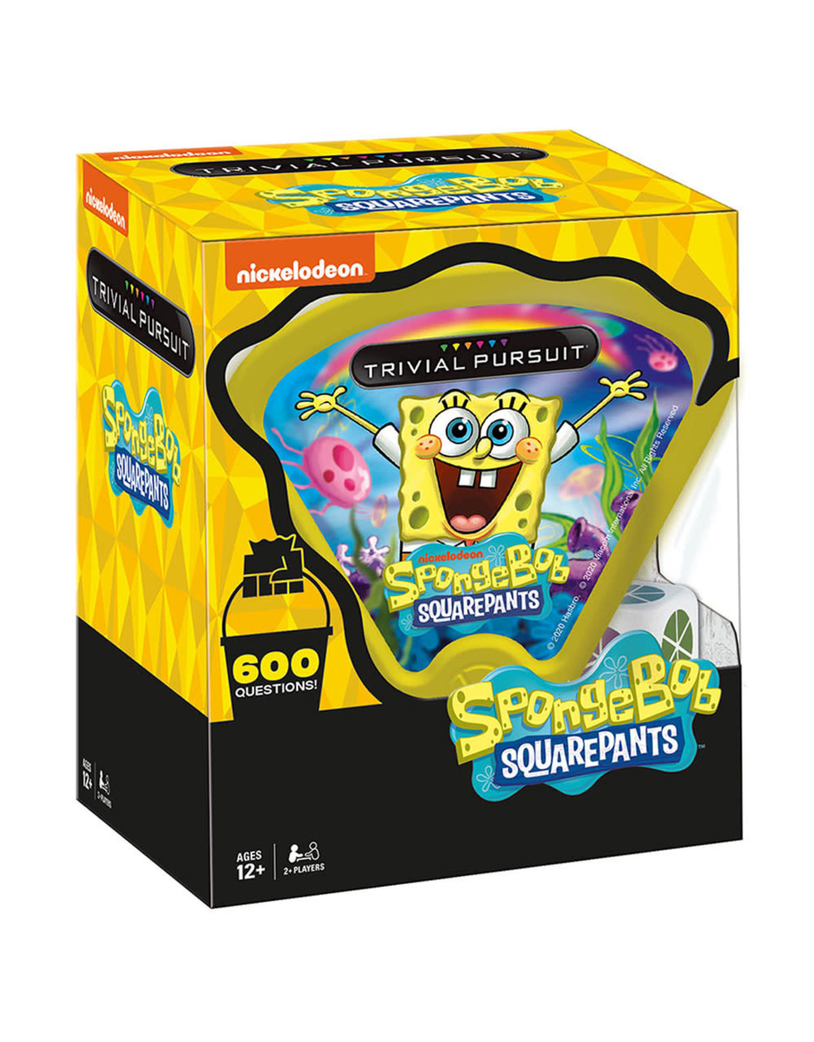 USAOPOLY TRIVIAL PURSUIT SPONGEBOB SQUAREPANTS