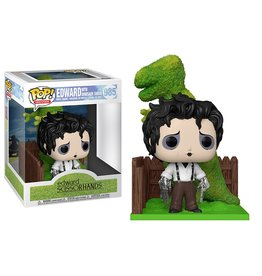 FUNKO POP EDWARD SCISSORHANDS EDWARD WITH DINOSAUR SHRUB VINYL FIG