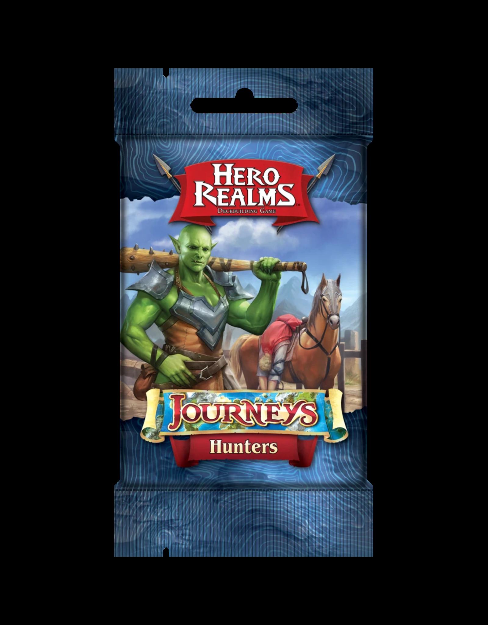 White Wizard Games HERO REALMS JOURNEYS HUNTERS