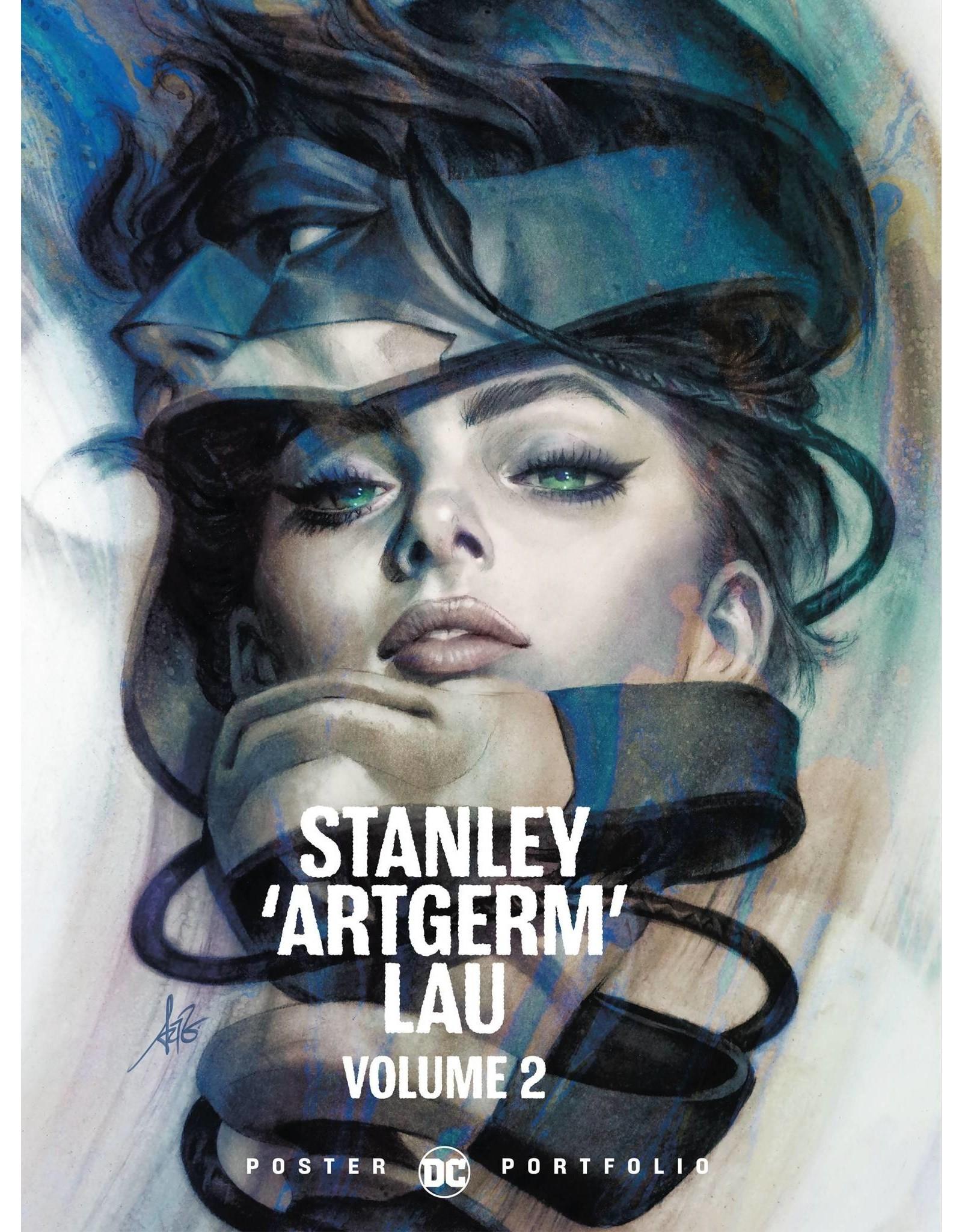 DC COMICS DC POSTER PORTFOLIO STANLEY ARTGERM LAU TP VOL 02