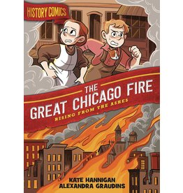 :01 FIRST SECOND HISTORY COMICS GN GREAT CHICAGO FIRE