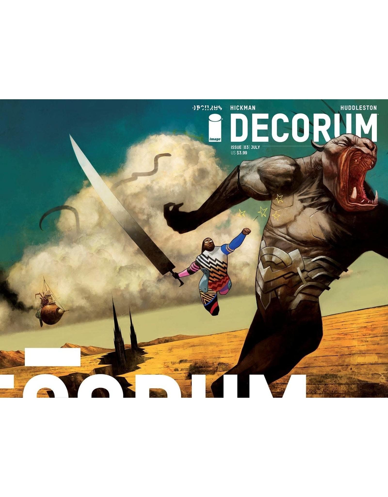 IMAGE COMICS DECORUM #3 CVR A HUDDLESTON