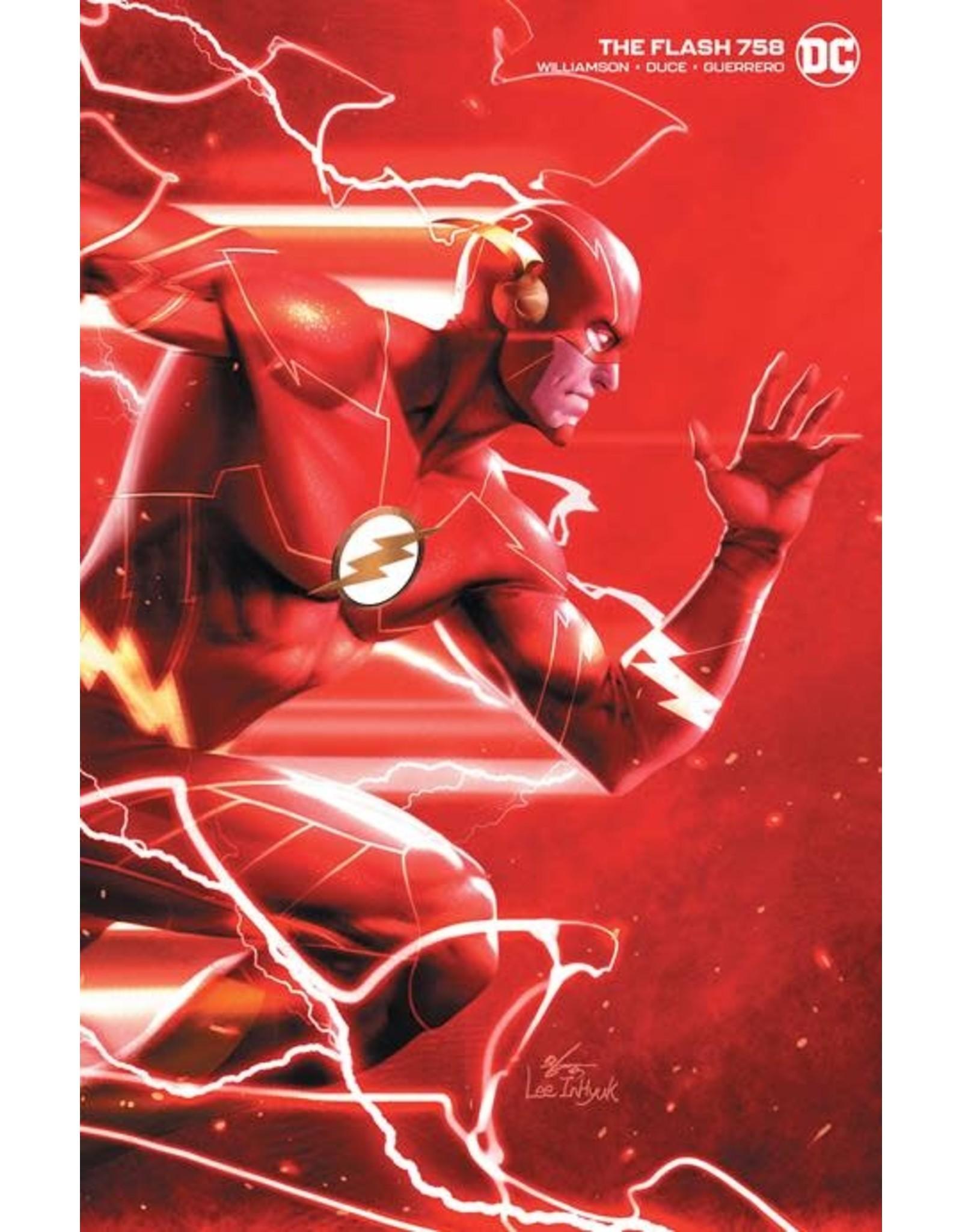 DC COMICS FLASH #758 INHYUK LEE VAR ED