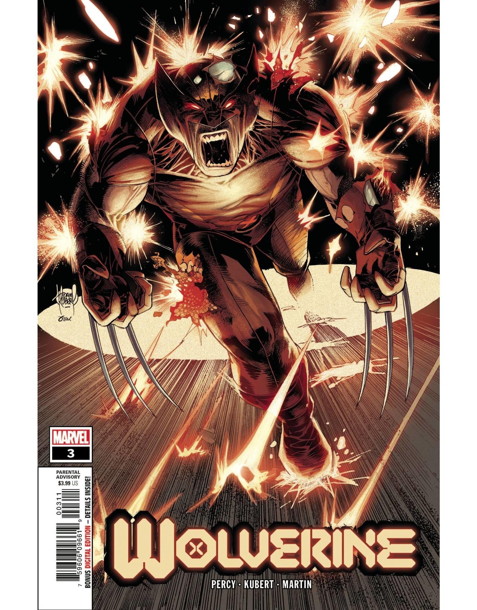MARVEL COMICS WOLVERINE #3 DX