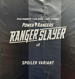 BOOM! STUDIOS POWER RANGERS RANGER SLAYER #1 BAGGED SPOILER VARIANT