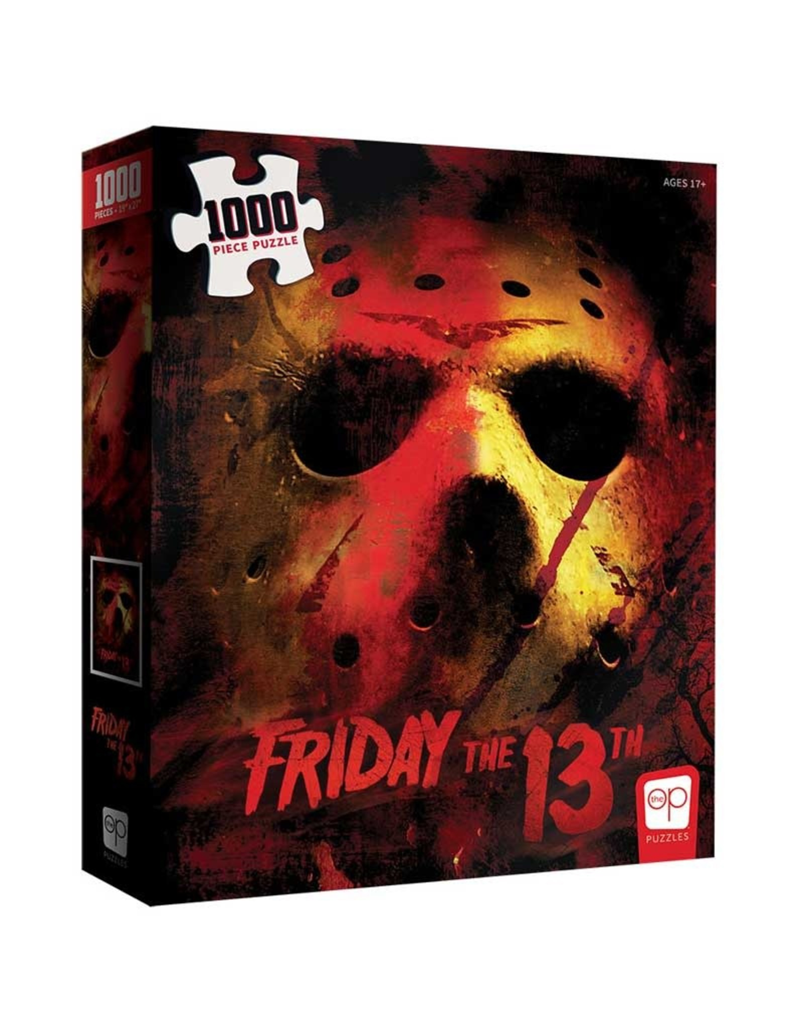 FRIDAY THE 13TH 1000 PIECE PUZZLE