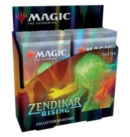 WIZARDS OF THE COAST ZENDIKAR RISING COLLECTOR'S BOOSTER BOX