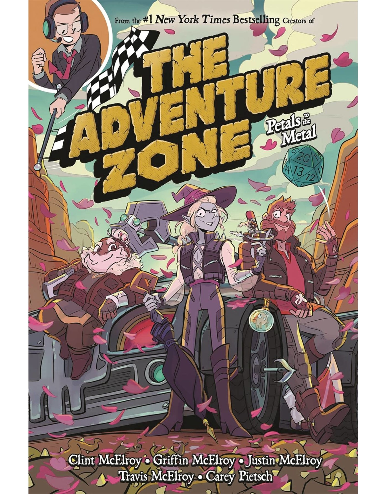 :01 FIRST SECOND ADVENTURE ZONE GN VOL 03 PETALS TO METAL
