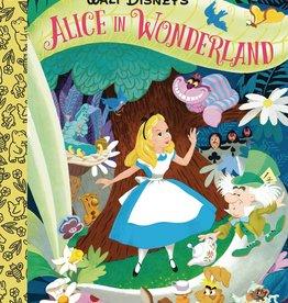 GOLDEN BOOKS WALT DISNEYS ALICE IN WONDERLAND LITTLE GOLDEN BOARD BOOK