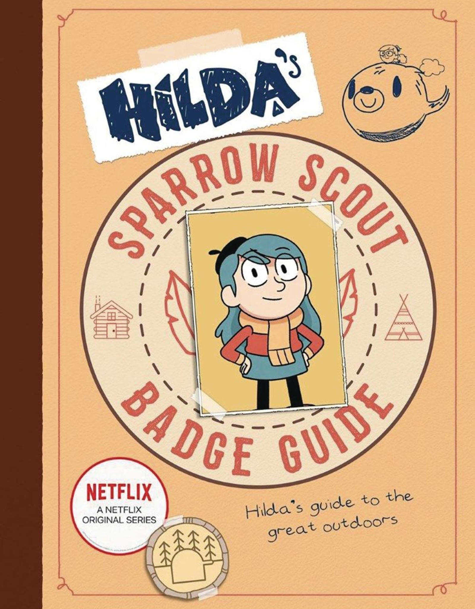 HILDAS SPARROW SCOUT BADGE GUIDE SC