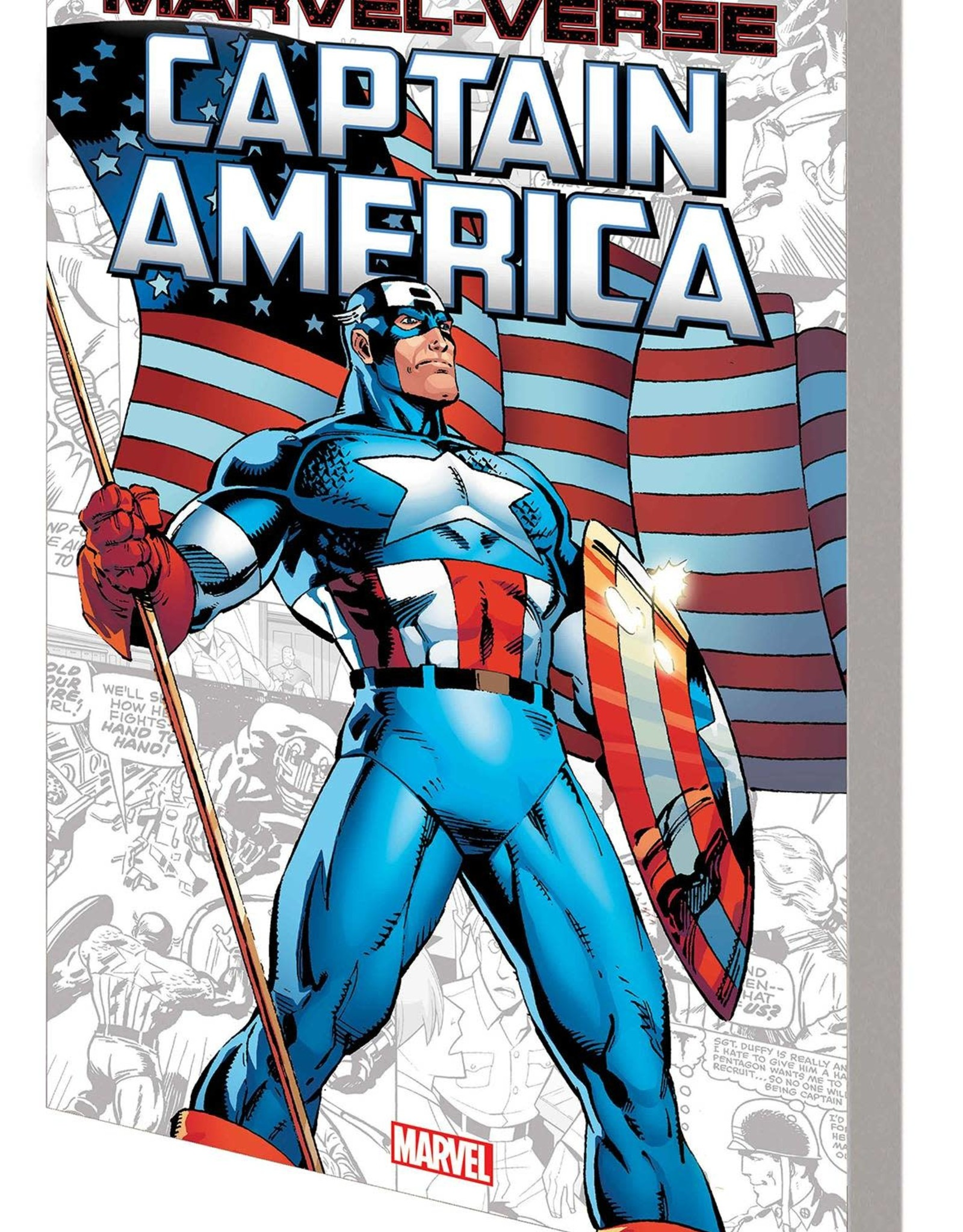 MARVEL COMICS MARVEL-VERSE GN TP CAPTAIN AMERICA