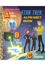 GOLDEN BOOKS STAR TREK ALPHABET BOOK LITTLE GOLDEN BOOK