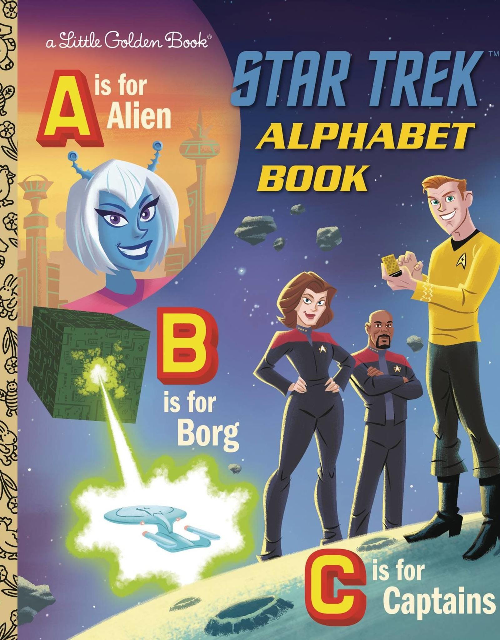 GOLDEN BOOKS STAR TREK ALPHABET BOOK LITTLE GOLDEN BOOK