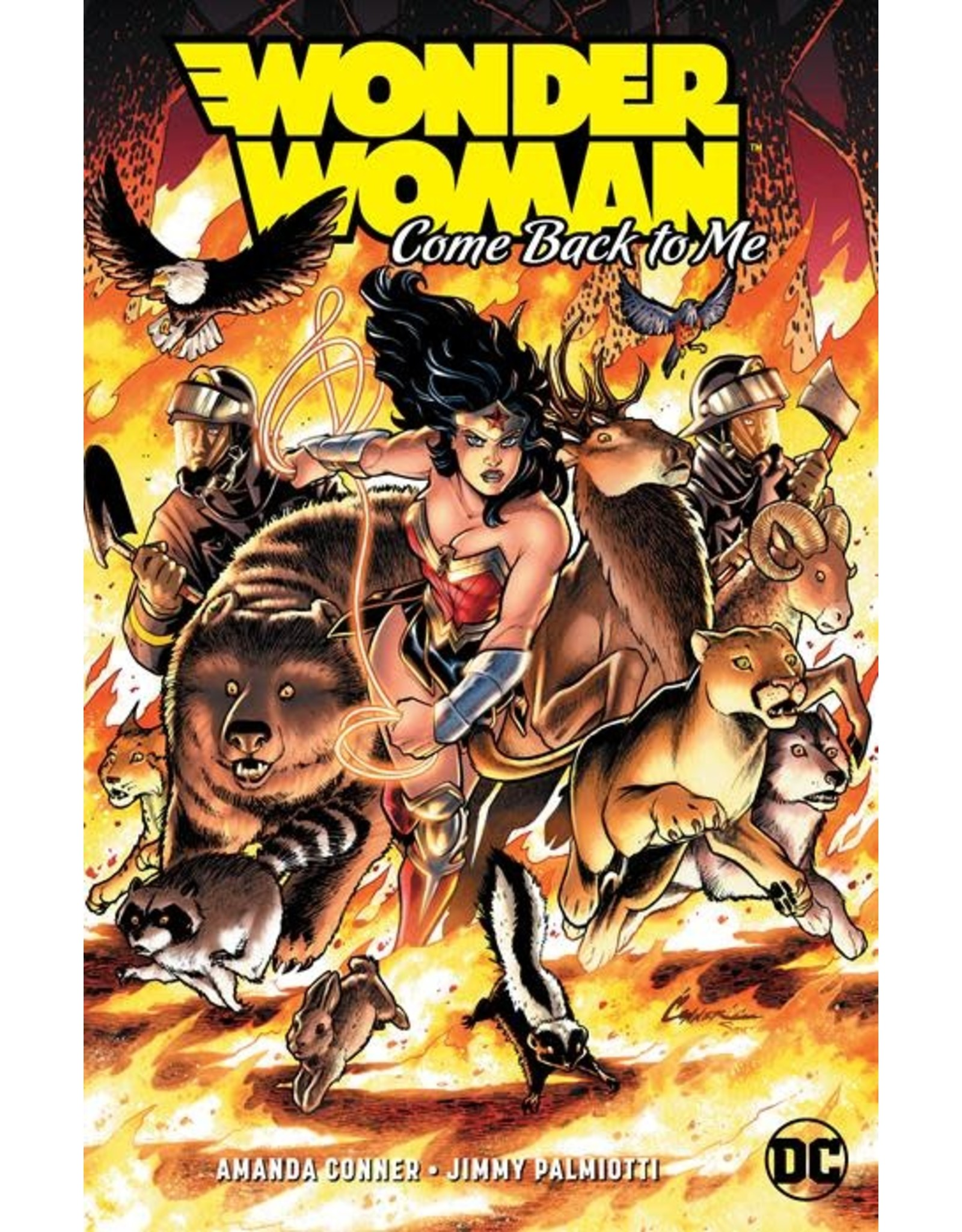 DC COMICS WONDER WOMAN COME BACK TO ME TP