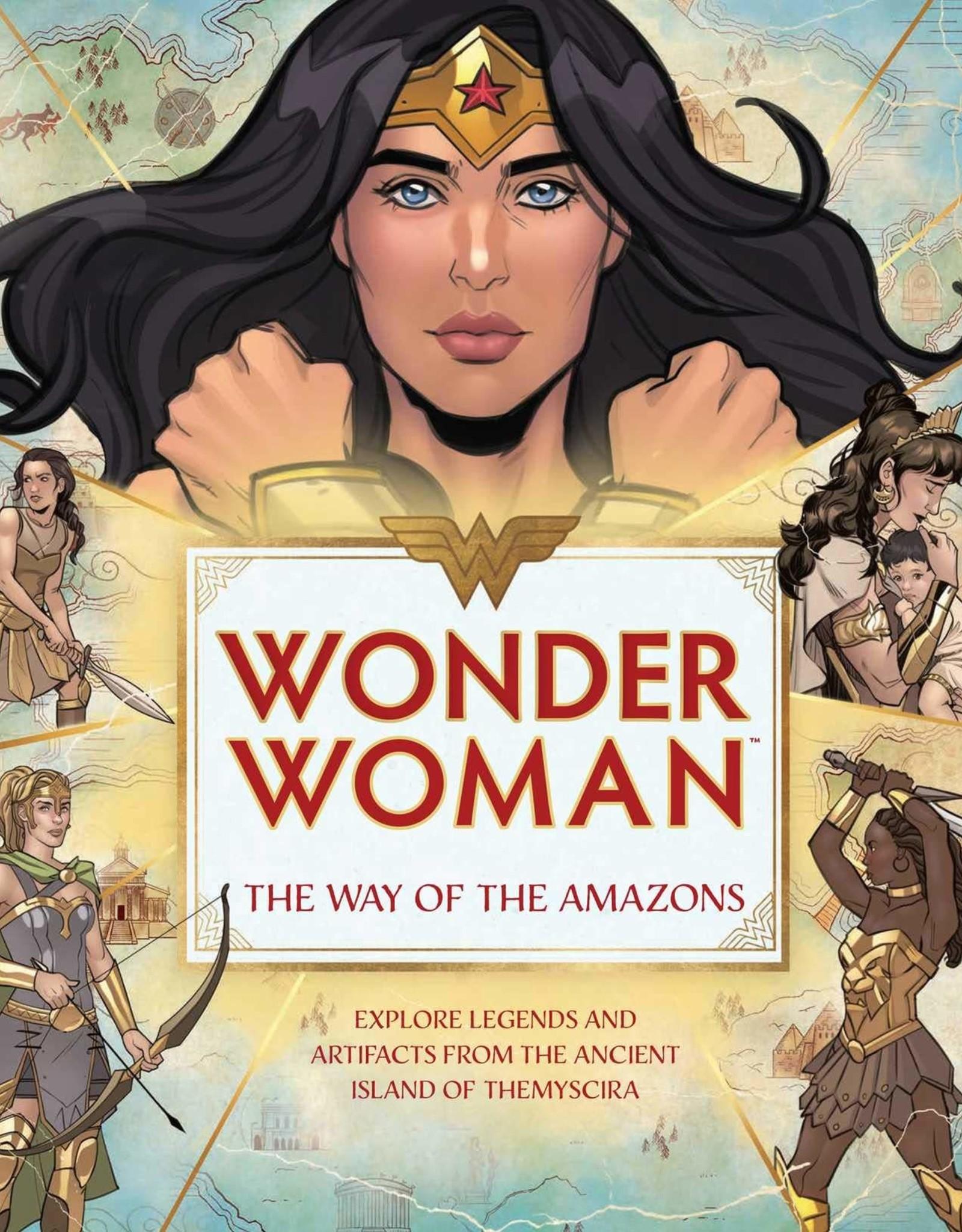 WONDER WOMAN WAY OF AMAZONS HC