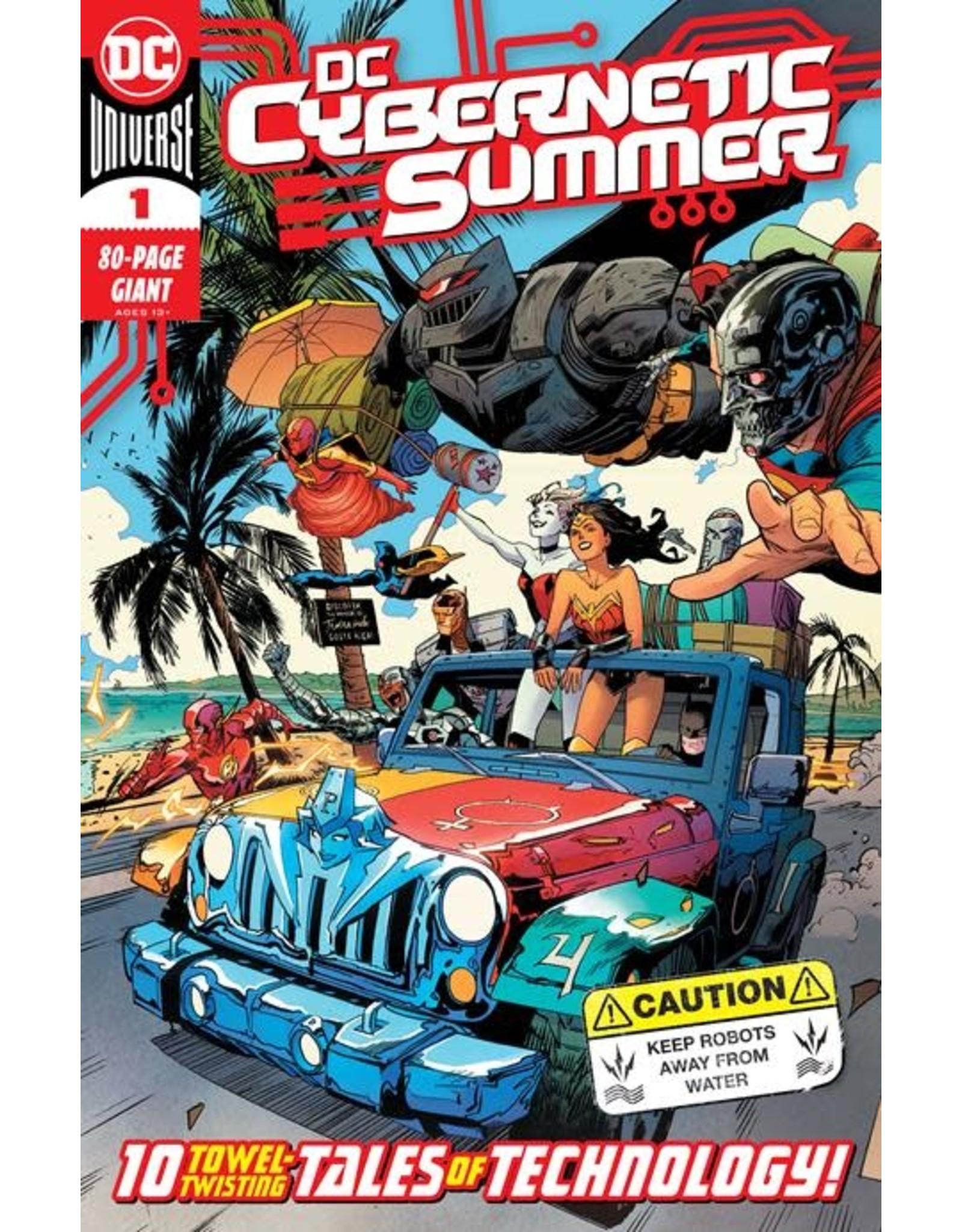 DC COMICS DC CYBERNETIC SUMMER #1