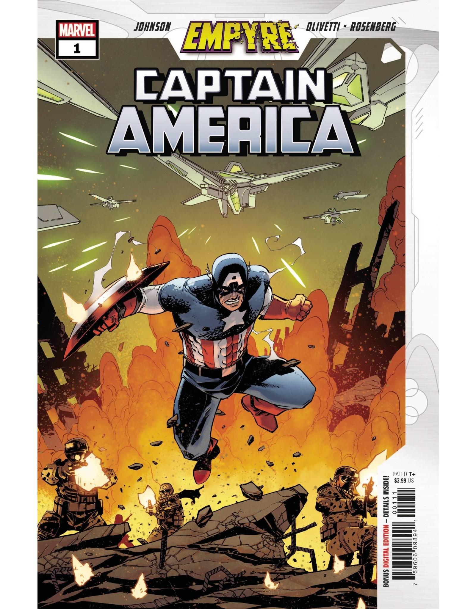 MARVEL COMICS EMPYRE CAPTAIN AMERICA #1 (OF 3)