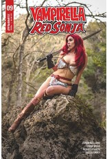 VAMPIRELLA RED SONJA #9 CVR D ATHENA ROSE COSPLAY
