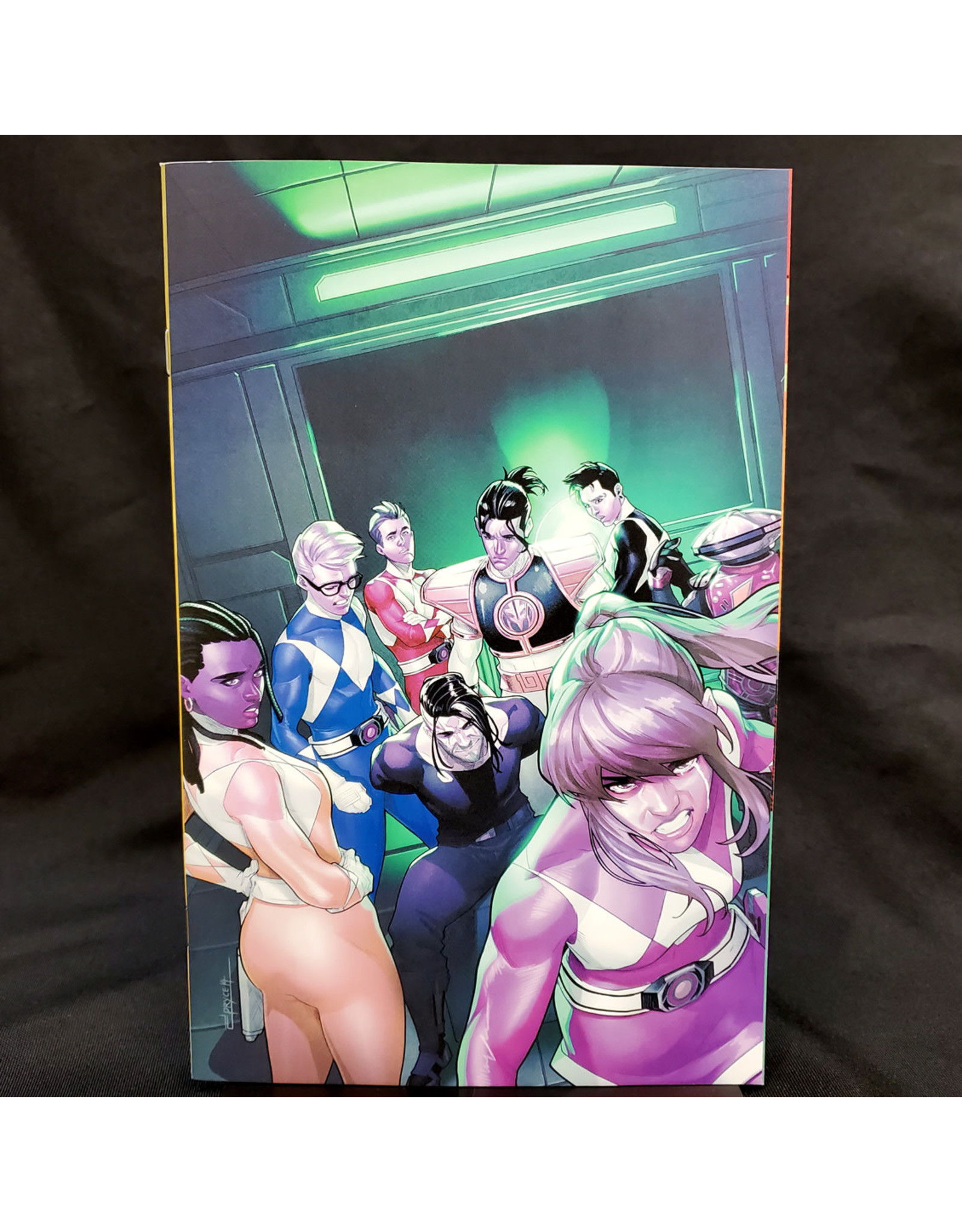 BOOM! STUDIOS MIGHTY MORPHIN POWER RANGERS #52 25 COPY CAMPBELL INCENTIVE
