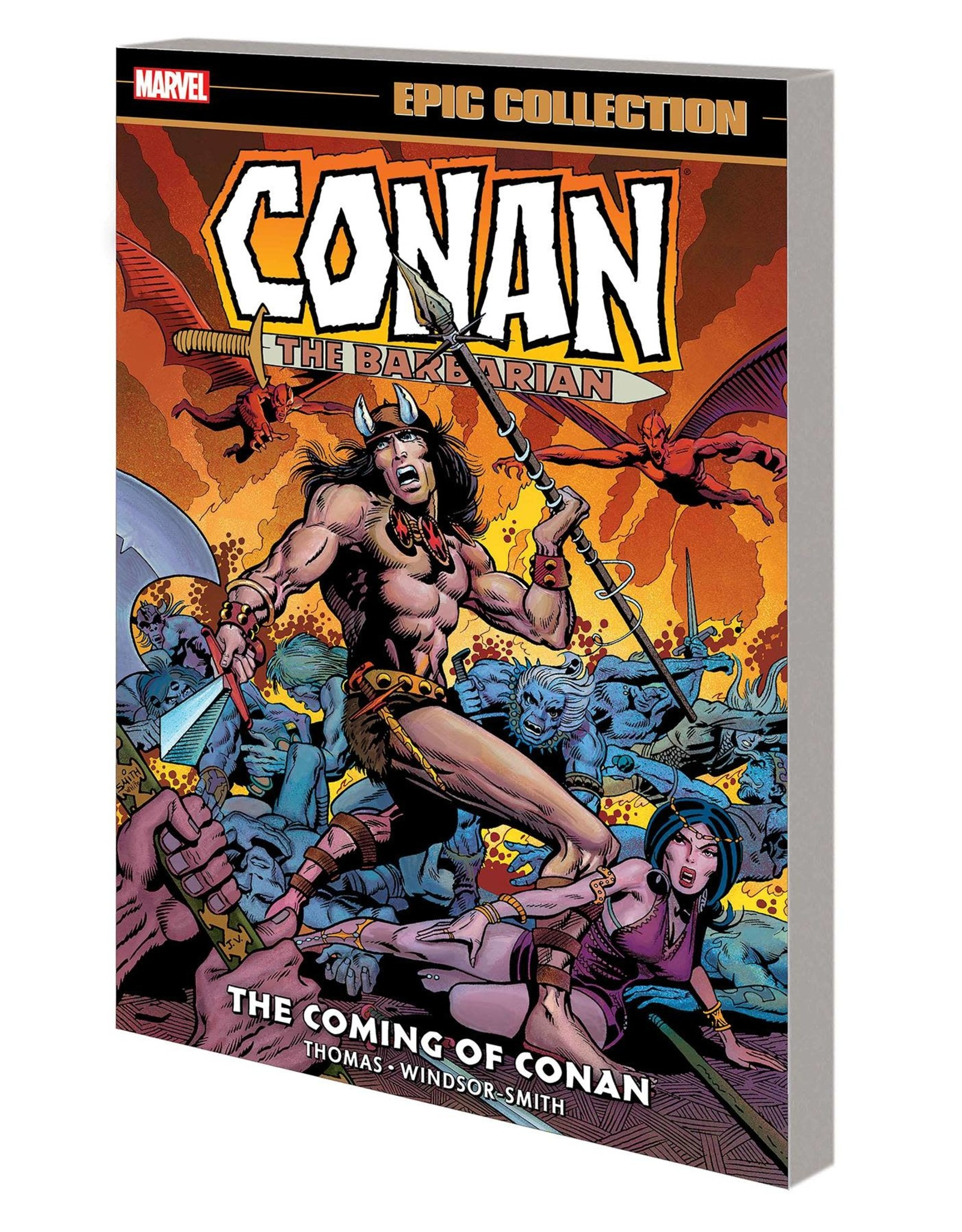 MARVEL COMICS CONAN BARBARIAN ORIGINAL MARVEL YEARS EPIC COLLECTION TP COMING OF CONAN