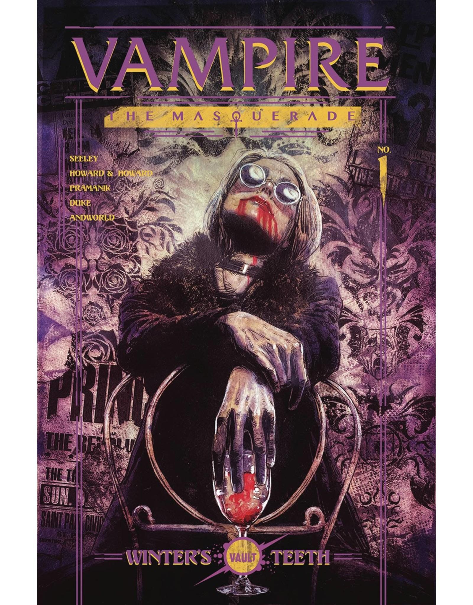 VAULT COMICS VAMPIRE THE MASQUERADE #1 CVR A CAMPBELL