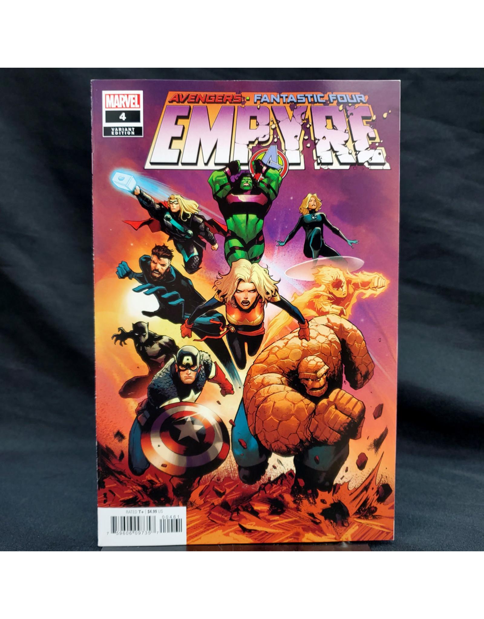MARVEL COMICS EMPYRE #4 (OF 6) GARBETT VAR