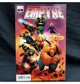 MARVEL COMICS EMPYRE #4 (OF 6) GARBETT VAR