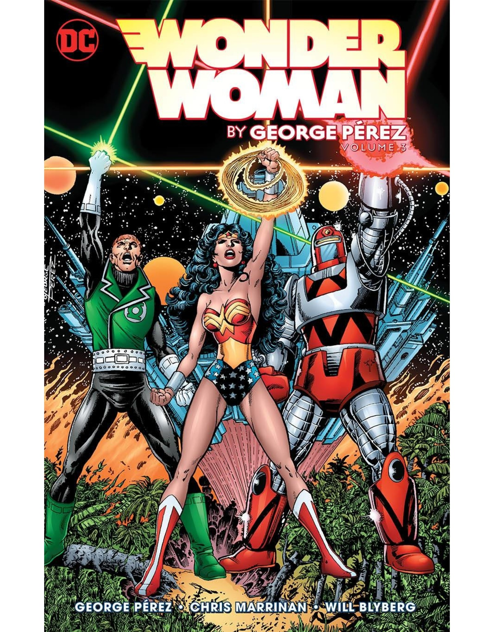 DC COMICS WONDER WOMAN BY GEORGE PEREZ TP VOL 03
