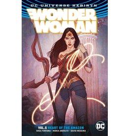 DC COMICS WONDER WOMAN TP VOL 05 HEART OF THE AMAZON TP REBIRTH