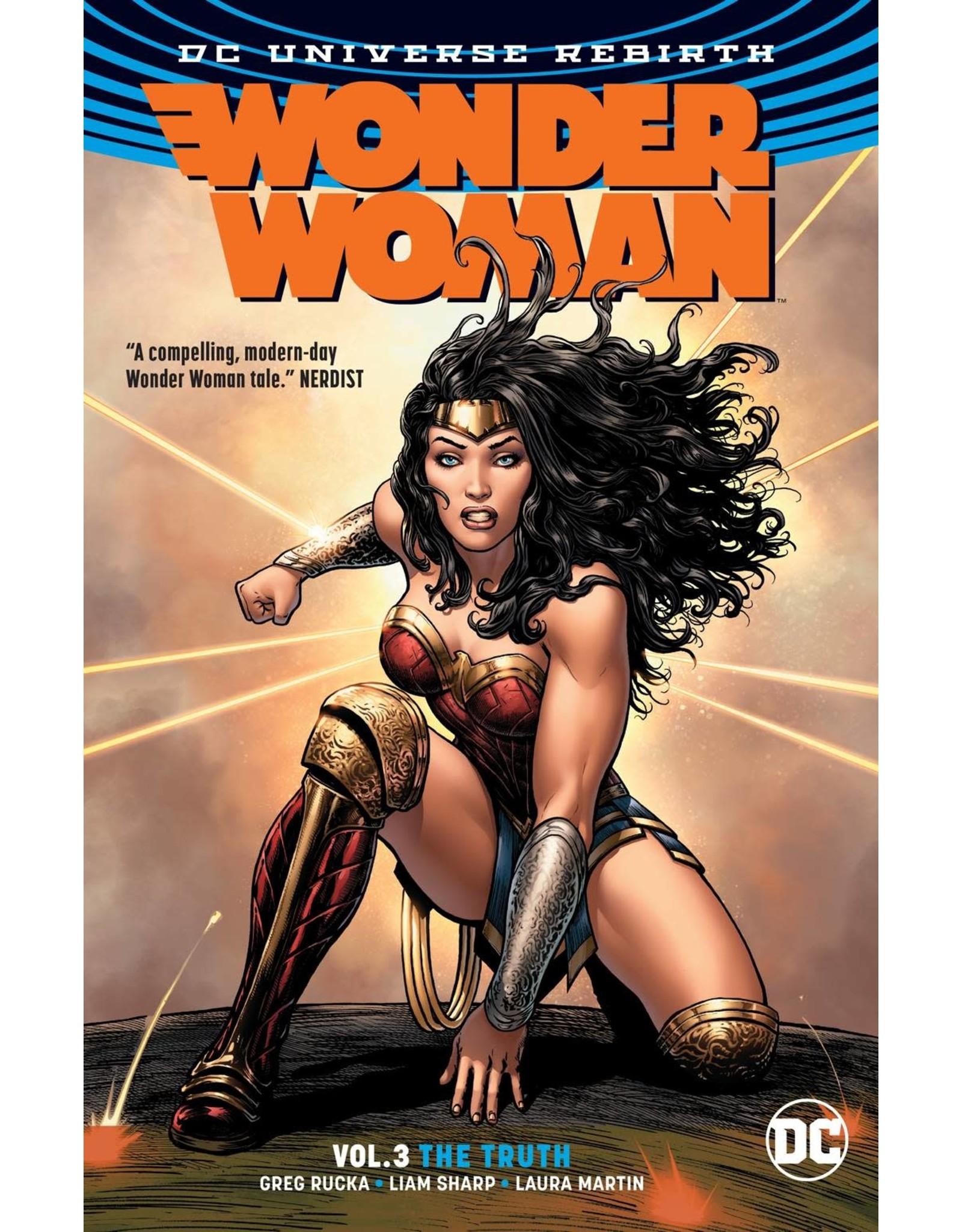 DC COMICS WONDER WOMAN TP VOL 03 THE TRUTH (REBIRTH)
